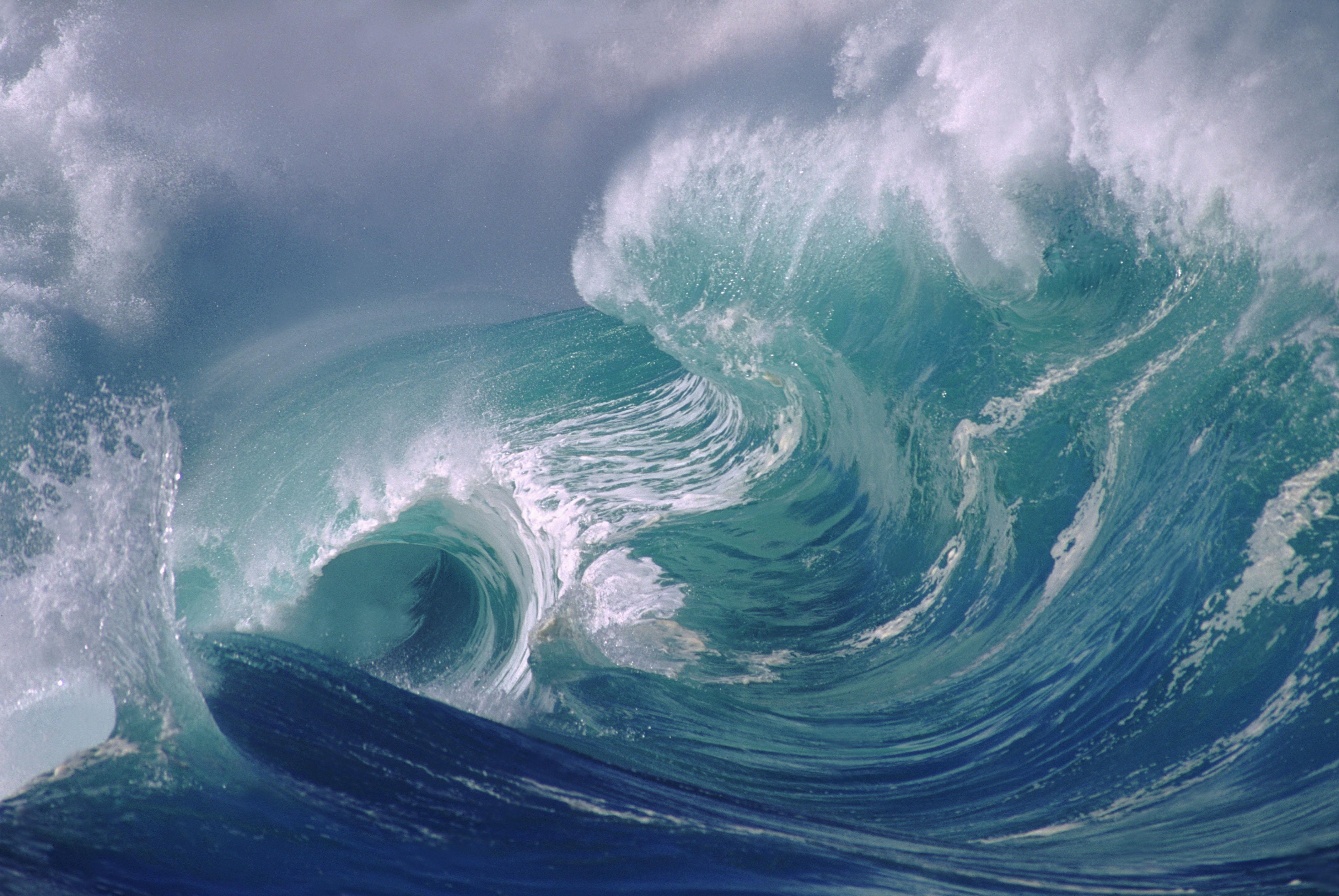 Big waves - Hawaii