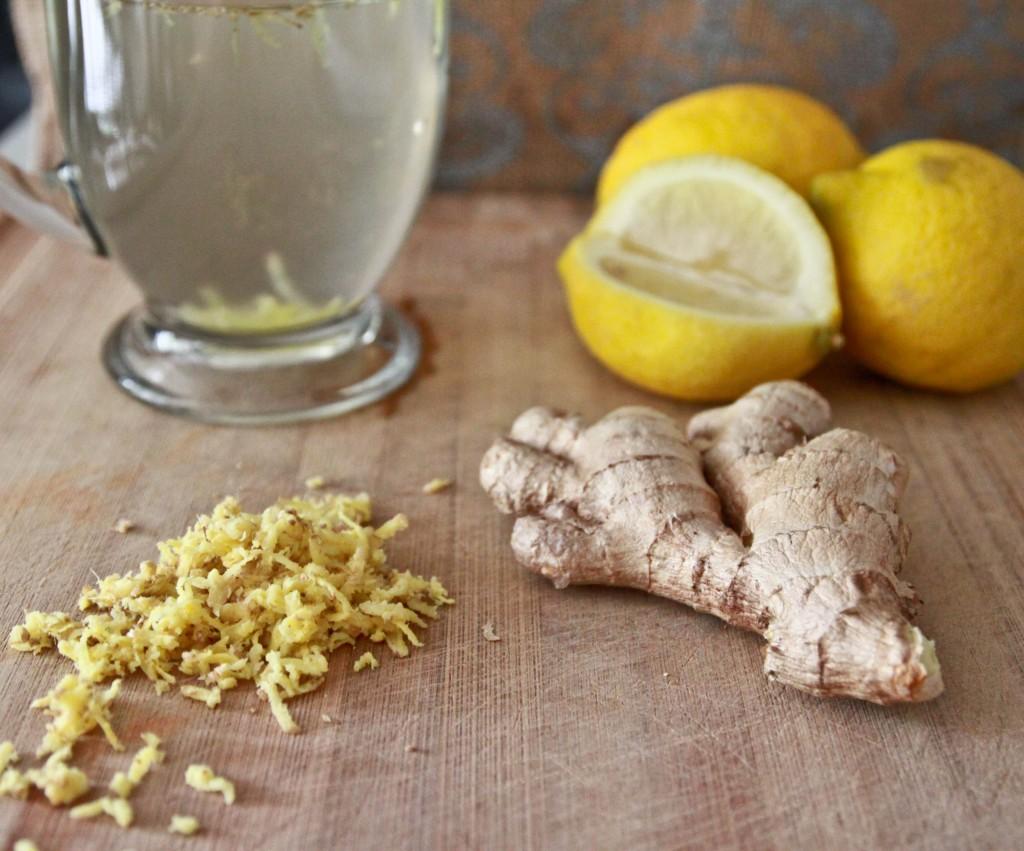 acqua calda limone e zenzero gr